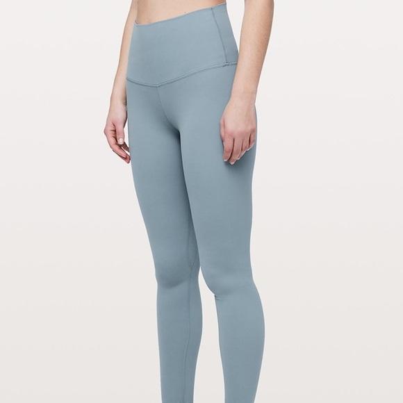 84a858b40ab8a lululemon athletica Pants - Blue Cast Lululemon Align Pant Full Length 28